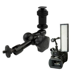7 inch Articulating Magic Arm for DSLR Camera Flashlight / LED Light / LCD Monitor(Black)