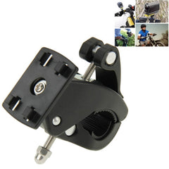 Bicycle Motorcycle Holder Handlebar Mount for GoPro HERO4 /3+ /3 /2 /1 SJCAM SJ4000 / SJ5000/ SJ6000 Xiaoyi(Black)