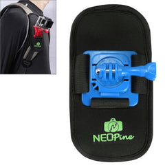 NEOPine Fashionable 360 Degree Rotation Diving Material Camera Belt / Shoulder Harness for GoPro HERO4 /3+ /3 /2 /1Xiaomi YiSJCAM SJ6000 / SJ5000 / SJ5000 WIFI / SJ4000 Sport Camera(Blue)