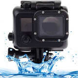 Black Edition Waterproof Housing Protective Case with Buckle Basic Mount for GoPro HERO3(Black)