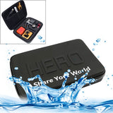 Shockproof Waterproof Portable Case for GoPro HERO4 /3+ /3 /2 /1 Size: 22cm x 16cm x 7cm