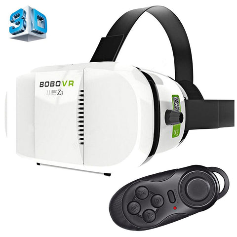 BOBO VR Xiaozhai Z3 Universal Virtual Reality 3D Video Glasses with Bluetooth Remote Controller