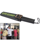 Super Scanner wand Metal Detector (MD-3003B1)(Black)