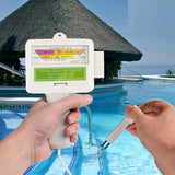 Home Swimming Pool Water PH / CL2 Tester Cable length: 1.2m