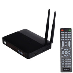 CSA91 Android 5.1 Smart TV Box with Remote Control CPU: RK3368 Octa-core 1.5GHz RAM: 2GB ROM: 16GB Built in XBMC Software