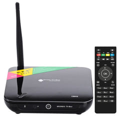 CS968 1080P High Definition Android 4.2.2 Smart TV Box with Remote Control CPU: RK3188-T Quad-core 2GB RAM + 8GB ROM Built-in XBMC Support WIFI + RJ45 + HDMI + Bluetooth