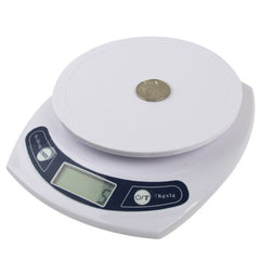 Electronic Kitchen Scale (1g~7kg)(White)