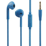 Mosidun Noodle Style High Performance In-Ear Headphones (with Mic) for iPhone /iPod / iPad /Samsung Galaxy SIII / i9300 / N7100 / i9100 / i8190  Length: 1.2m(Blue)