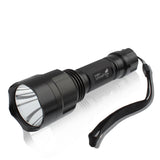 UltraFire CREE XM-L T6 LED 1000 Lumen 5 Mode C8 Flashlight Torch(Black)