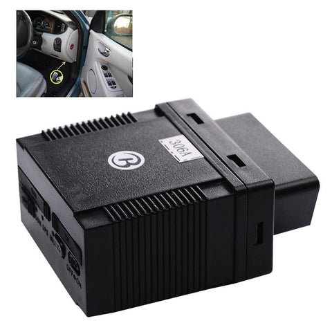 GPS306 OBD Vehicle GPS Tracker Monitor Diagnostics with Speed Motion Sensor / SOS Alarm / Truck Fleet Management / APP Tracker