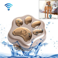 REACHFAR RF-V30 Waterproof IP66 Anti-lost WiFi GSM Smart GPS Tracker for Pet(Gold)