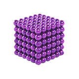 216 PCS Buckyballs Magnetic Balls / Magic Puzzle Magnet Balls(Purple)