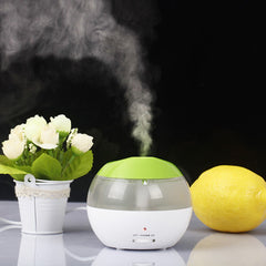 Mini USB Humidifier with Blue LED  Night Light