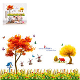 3D Removable Wall Stickers for Home Decoration Size: 90cm x 60cm