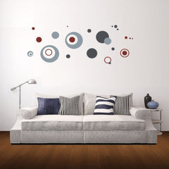 Home Decor Dot Pattern Removable Wall Stickers DIY Free Combination Size: 50cm x 70cm