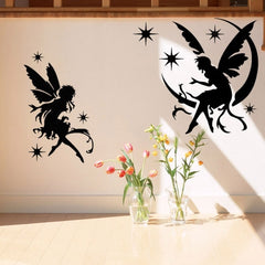 Home Decor Fairy Removable Wall Stickers DIY Free Combination Size: 60cm x 82cm