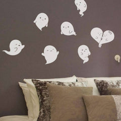 Home Decor Lovely Ghosts Removable Wall Stickers DIY Free Combination Size: 60cm x 42cm