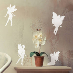 Home Decor Lovely Pixies Removable Wall Stickers DIY Free Combination Size: 60cm x 40cm