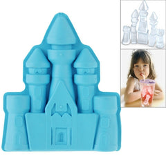 Palace Shape TPE Ice Cube Tray Castle Ice Mold (Random Color Delivery)