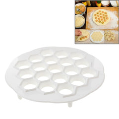 Creative Kitchen Household DIY Dumpling Mould Speed Machine(White)