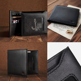 Xiaomi Business Genuine Leather Wallet(Black) - Zasttra.com - 3