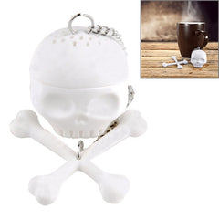 Skull Shape Infuser Silicone Tea Strainers(White)