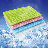 Diamond Shape 96-Grid Ice Cube Tray Random Color Delivery