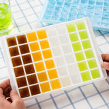 Diamond Shape 48-Grid Ice Cube Tray Random Color Delivery