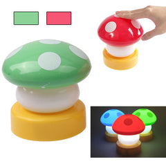 Cute Mushroom Shaped Touch Lights Lamp Bulb (Random Color Delivery)