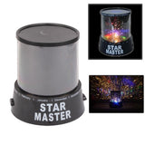 Sky Star Master Night Light Projector Lamp(Black)