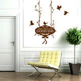 DIY Fashion Self Adhesive PVC Removable Wall Stickers / House Interior Decoration Pictures -- Nice bird Size: 70cm x 50cm