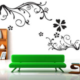 DIY Fashion Self Adhesive PVC Removable Wall Stickers / House Interior Decoration Pictures -- Decorative Border Size: 90cm x 60cm