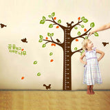 DIY Fashion Self Adhesive PVC Removable Wall Stickers / House Interior Decoration Pictures -- Growing Trees Size: 90cm x 60cm