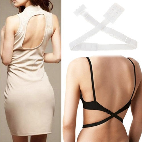 7effa7b28f Adjustable Low Back Bra Strap Converter Backless V Conversion Solution