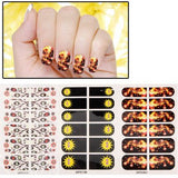 3 PCS Decorative Pattern Design Nail Decals