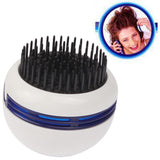 Portable Massaging Comb Stress Releasing Massager Health Care Item for Head Scalp Hair (Color Random Delivery)(White)