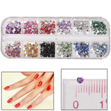 Heart Style Shining Nail Art Decoration DIY Nail Art Decal Sticker Finger / Toe Decorator Beauty Item