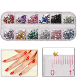 Star Shape Shining Nail Art Decoration DIY Nail Art Decal Sticker Finger / Toe Decorator Beauty Item
