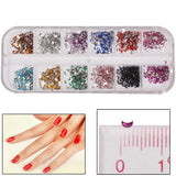 Moon Shape Shining Nail Art Decoration DIY Nail Art Decal Sticker Finger / Toe Decorator Beauty Item