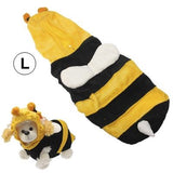 Bee Style Pet Puppy Clothes Dog Doggie Shirt Apparel (Size: L) - Zasttra.com - 1