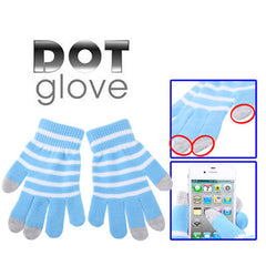 Dot Gloves of Touch Screen for iPhone 5 iPhone 4 & 4S / iPad / iPod Touch BlackBerry HTC and other Touch Screen Mobile Phones