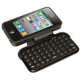 Mini Bluetooth Keyboard Leather Case for iPhone 4 - Zasttra.com - 4