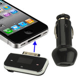 FM Transmitter for iPhone 4 & 4S / 3GS / 3G / iPod Size: 50 x 21 x 10mm