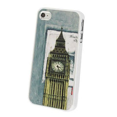 Big Ben Pattern Plastic Protective Case for iPhone 4 & 4S