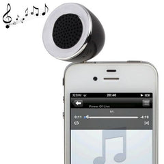 3.5mm Mobile Phone Speaker for iPhone 4 & 4S / 3GS / 3G / iPod  iPad  MP3(Black)