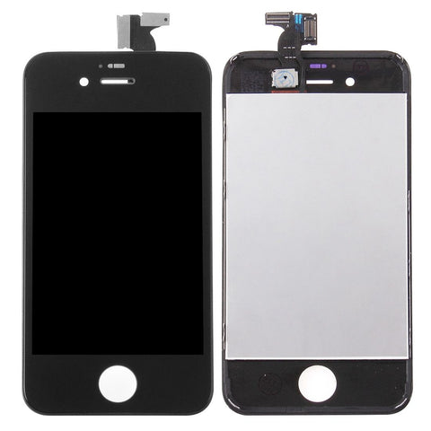 iPartsBuy 3 in 1 for iPhone 4S (LCD + Frame + Touch Pad) Digitizer Assembly(Black)
