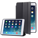 Naturally Treated Leather Smart Case for iPad Air (Black) - Zasttra.com - 1