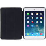 Naturally Treated Leather Smart Case for iPad Air (Black) - Zasttra.com - 2