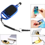 Multi-functional High-Sensitive Capacitive Stylus Pen / Touch Pen with Mobile Phone Holder (Dark Blue)