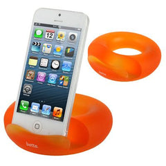 Betta Series Universal Donuts Style Silicone Docking for iPhone 5 & 5C & 5S / iPad  / iPhone 4 & 4S / Other Mobile Phone / Tablet PC (Orange)